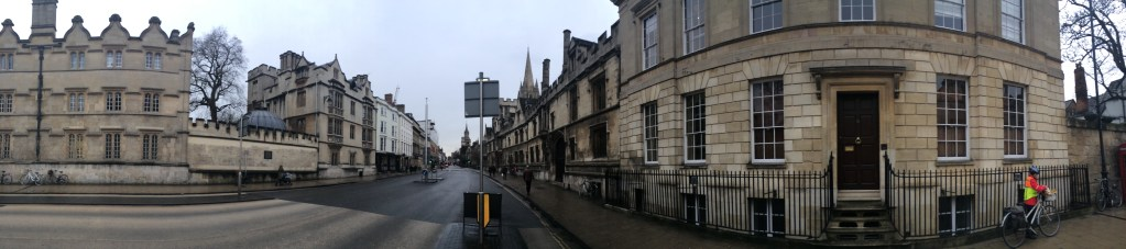 Street view in Oxford