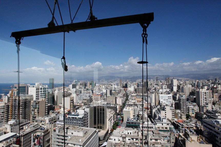 City view of Beirut, Lebanon on June 1, 2014. Photo © Dominic Chavez/World Bank