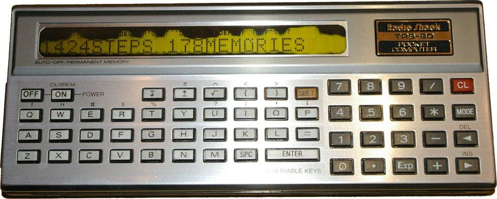 TRS-80 Pocket Computer