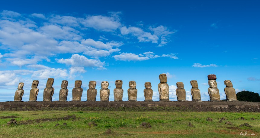 Ahu Tongariki, Easter Island, the Navel of the World (Yulin Lu/flickr.com)
