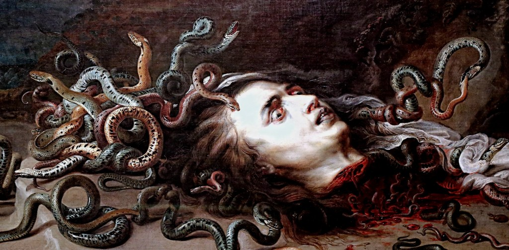 Peter Paul Rubens. From 1577 to 1640. Antwerp. Medusa's head. KHM Vienna.