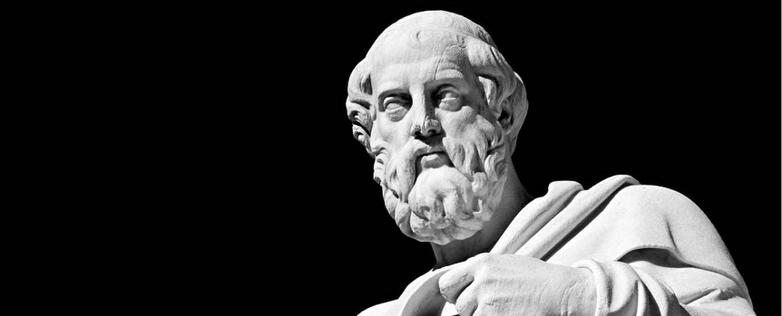 Marble statue of the ancient greek philosopher Plato (Source: alienaxioms.com)