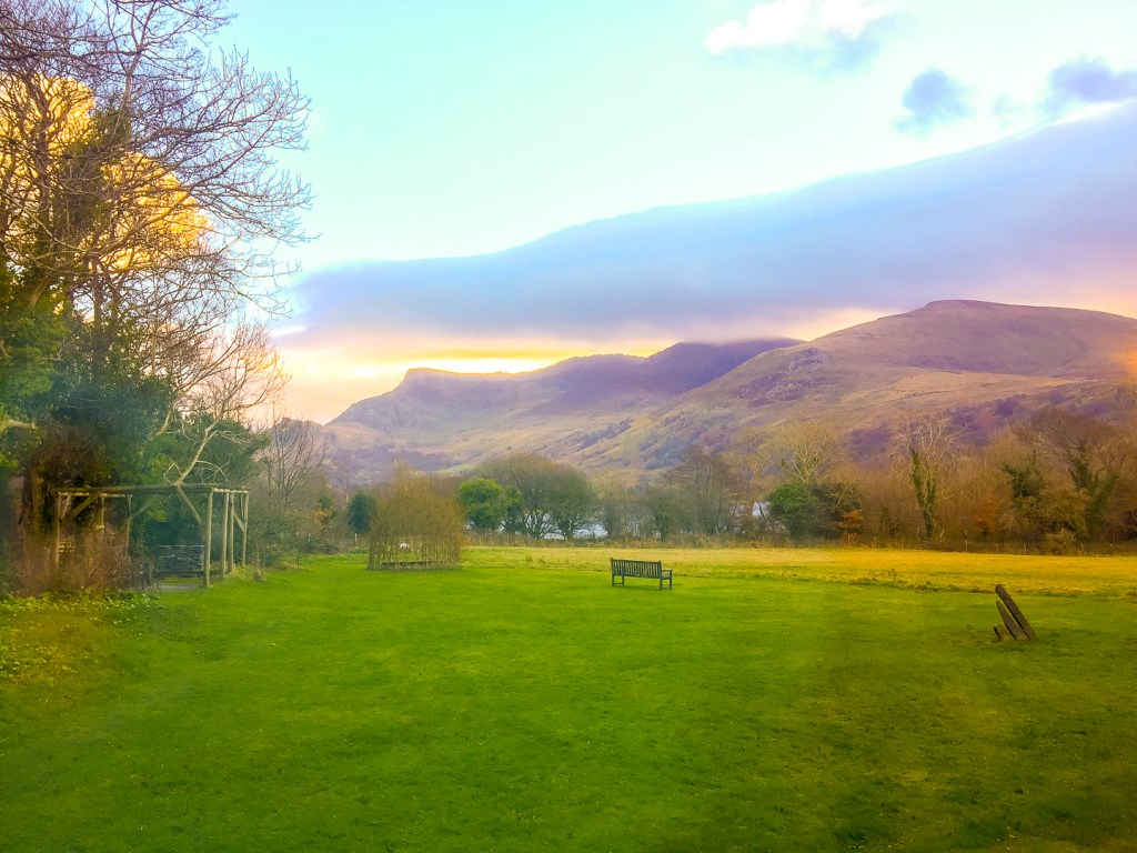 Dawn in Trigonos, Snowdonia National Park, Caernarfon, Wales