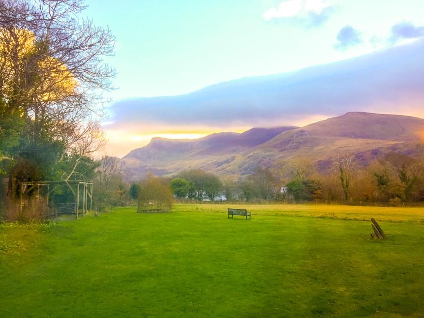 Dawn in Trigonos, Snowdonia National Park, Caernarfon, Wales