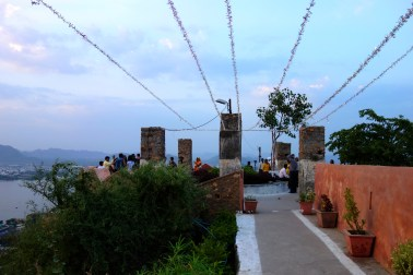 Near a temple