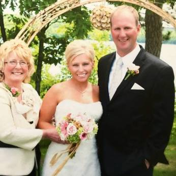 Katie Krogstad Roed with Mother Dee Krogstad Osell and Husband Josh Roed_A Mother's Day Tribute