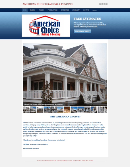 old american choice website