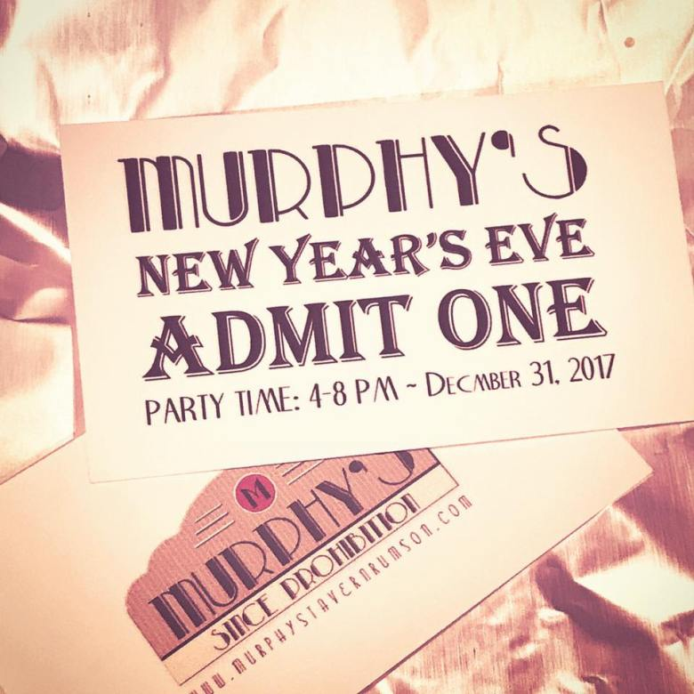 Murphy's Tavern Rumson New Year's Eve