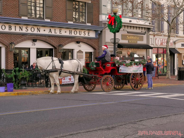 Red Bank Holiday Decorations Horse Rides 14 of 33