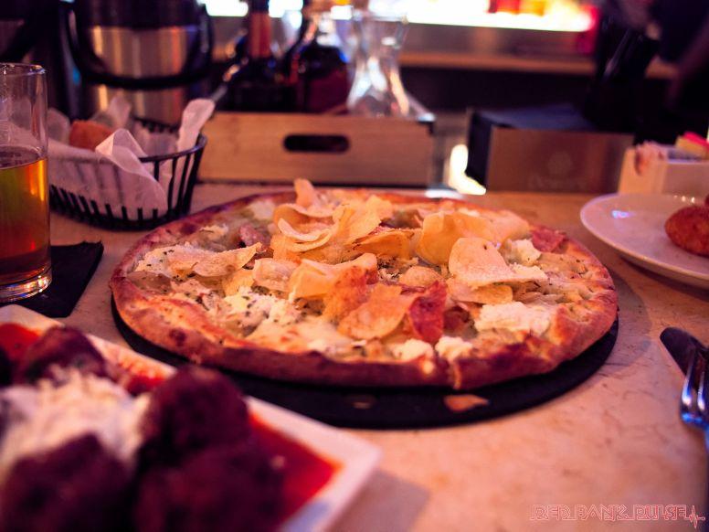 Pazzo MMX pizza meatballs beer potatoe croquettes cannoli 8 of 25