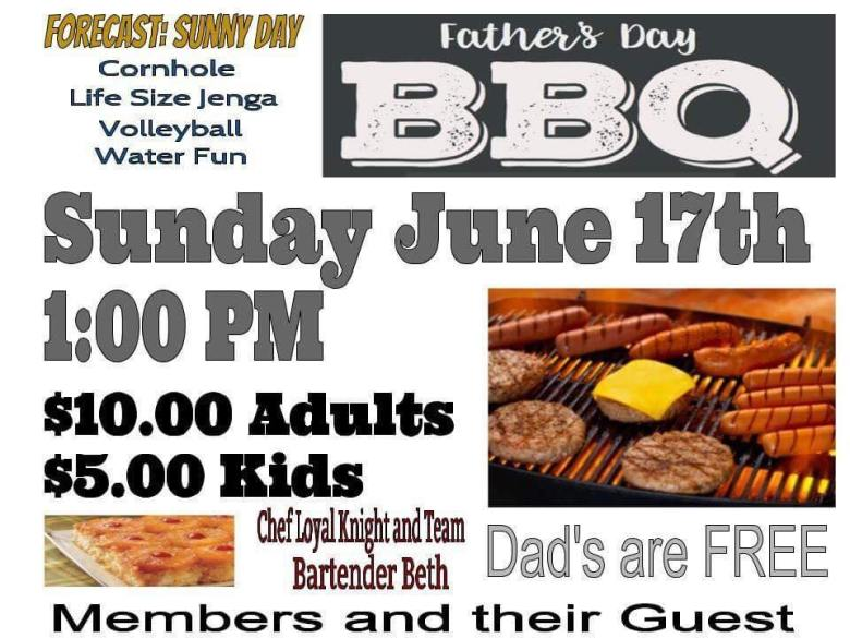 Red Bank elks father's day