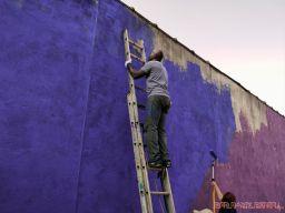 3rd annual community mural painting Indie Street Film Festival 33 of 36