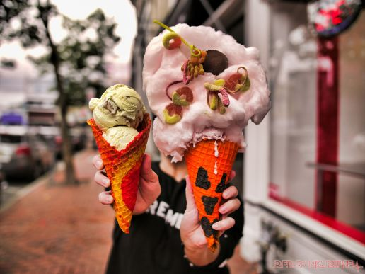 Coney Waffle Red Bank National Ice Cream Cone Day 9 of 49