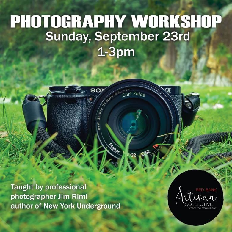 Photography Workshop at Artisan Collective