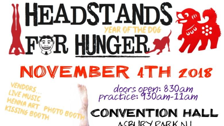 Headstands for Hunger 2018 header