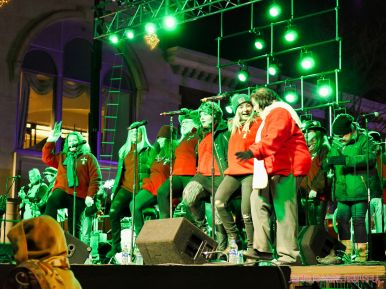 Holiday Express Concert Town Lighting 64 of 150