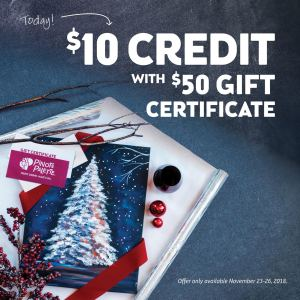 Cyber Weekend Holiday 2018 incentive