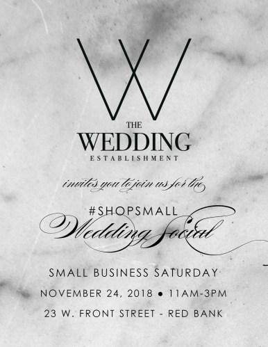 The Wedding Establishment BlackFriday 2018 Promo 1