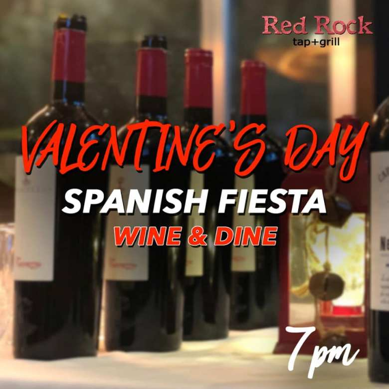 Red Rock Tap + Grill Valentine's Day 2019