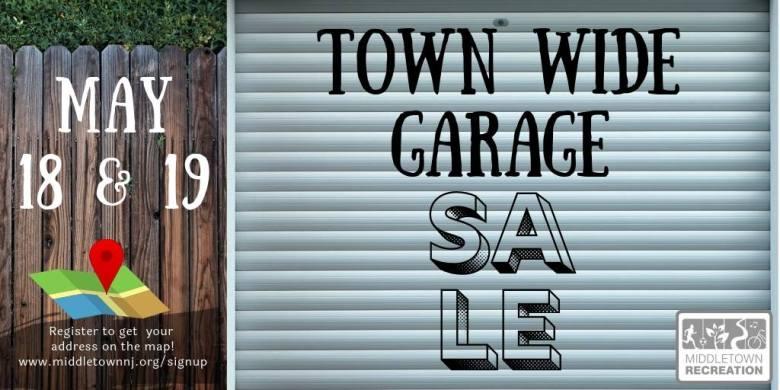 Middletown town wide garage sale
