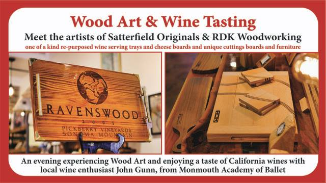 Wood Art & Wine Tasting Artisan Collective