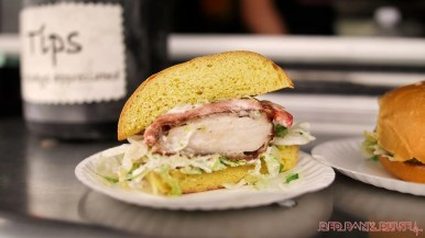 Middletown South Food Truck Festival 89 of 113 Jonnie G's chicken sandwich