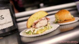 Middletown South Food Truck Festival 90 of 113 Jonnie G's chicken sandwich