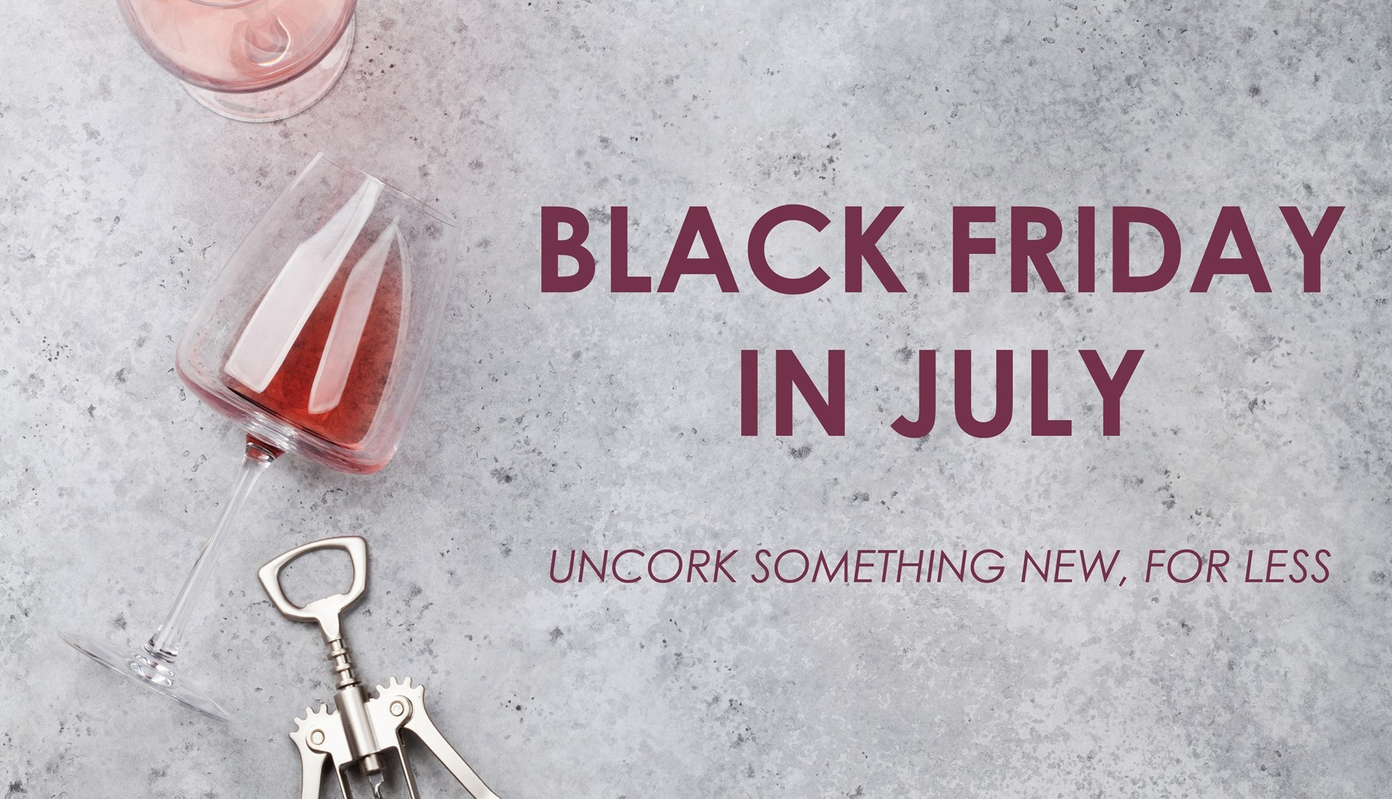 The Wine Cellar at Red Bank's Black Friday in July sale will