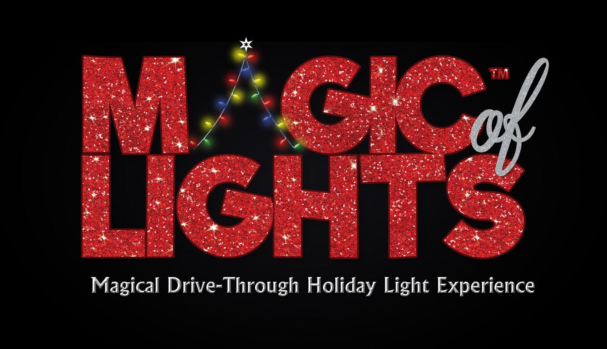 Magic Of Lights Drive Through Light Show Returns To Pnc Bank Arts Center