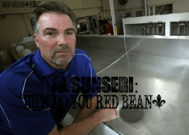 AL SUNSERI: How Do You Red Bean?