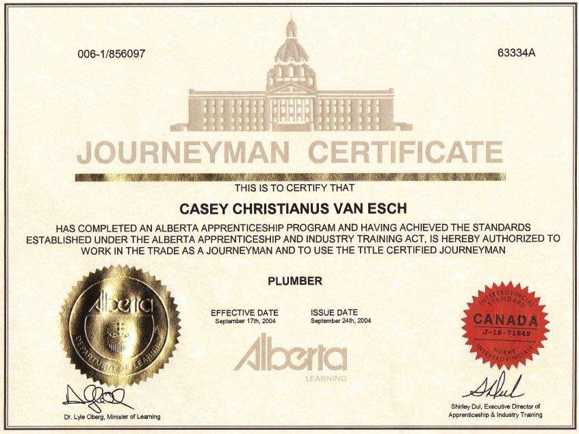 how to get a journeyman certificate in alberta