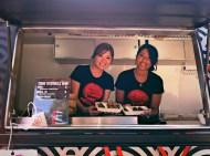 attractive tsuru food truck girls