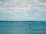white sails at kurnell.