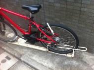 bike stand lock
