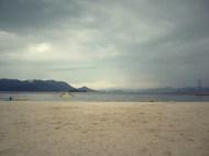 setoda sun set beach.