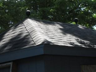 garden shed 2 finials