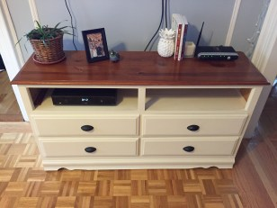 dresser-tv-stand-off-white-with-brown-top