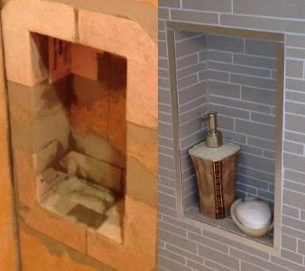 The Epic Battle Of The Shower Niches Tiled Niche Vs The