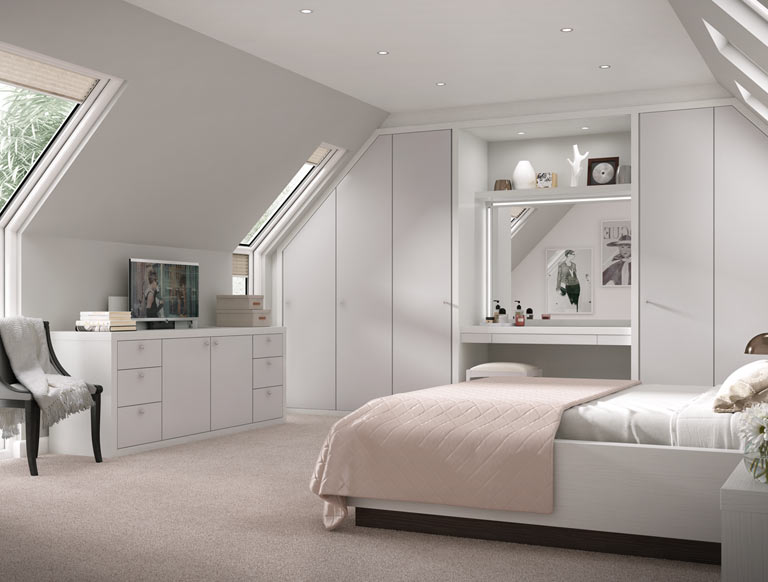 Bedroom Furniture Design With Cupboard, Built In Bedrooms Furniture
