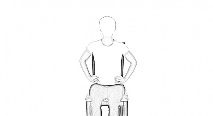 Seated Rotation 1 | Abdominal Stretches