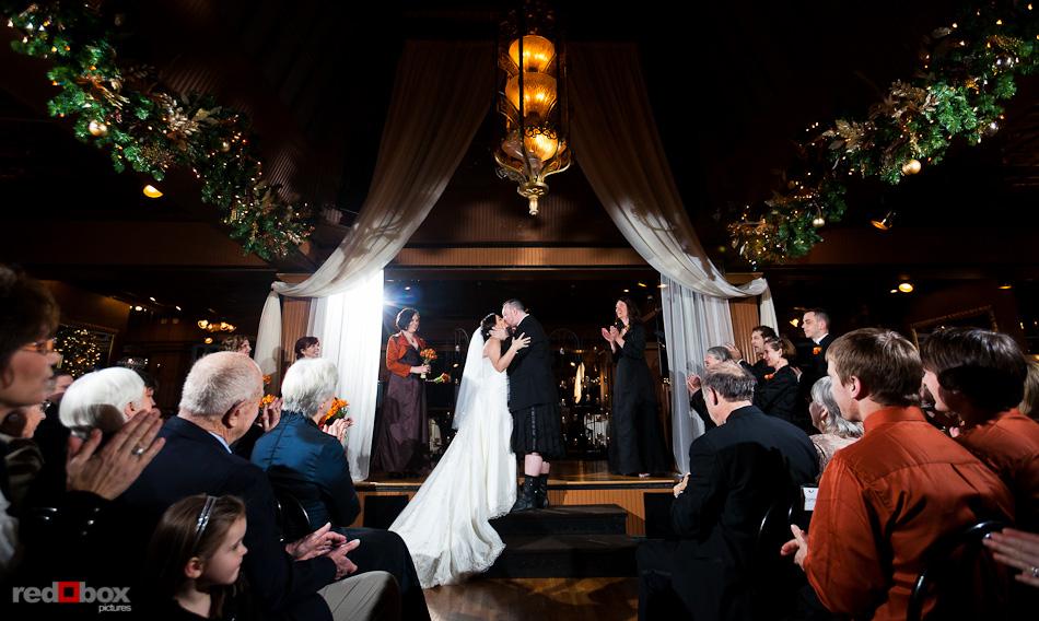 Lake Union Cafe Wedding Photos Tara Brian Seattle