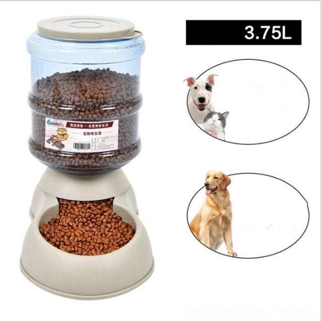 Automatic Feeder for Cats and Dogs, Water Dispenser Redbox Round