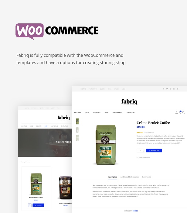 Fabriq - Personal WordPress Blog Theme - 9