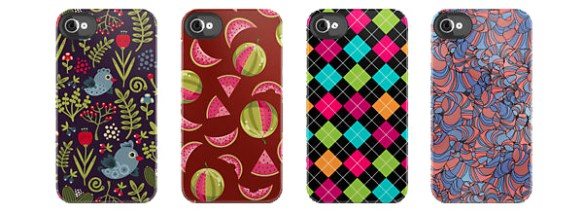 Repeat pattern iPhone cases