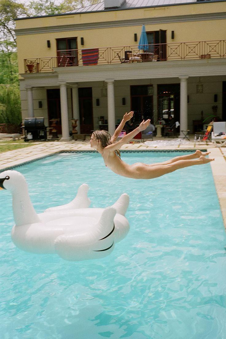 naked at the pool tumblr