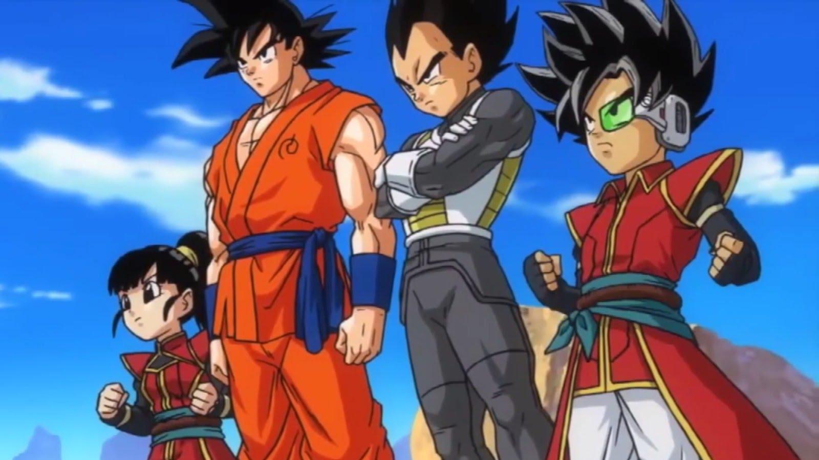 Dragon Ball Heroes Saiyan