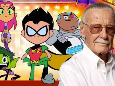 Stan Lee Teen Titans Go to the movie