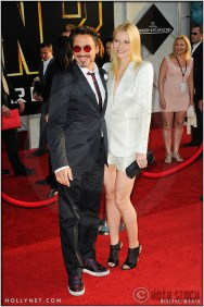 """Robert Downey, Jr. and Gwyneth Paltrow at the World Premiere of """"Iron Man 2"""""""