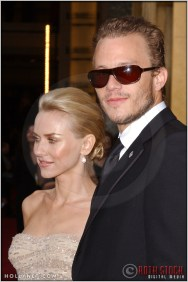 Naomi Watts and Heath Ledger at the 76th Annual Academy Awards®
