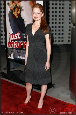 "Marisa Coughlan at the Premiere Screening of ""Just Married"""